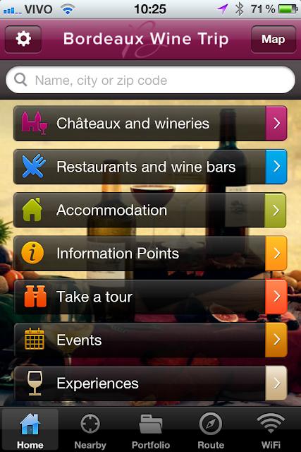 Primeira fotogarfia publicada no artigo Bordeaux Wine Trip, um aplicativo indispensável para o smartphone de qualquer enófilo!